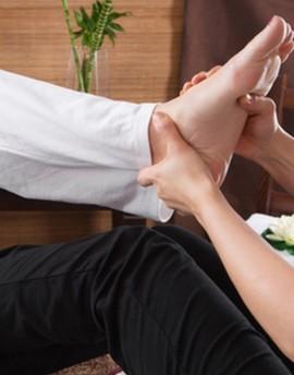 Massage Thaï pieds et Dos (1h)