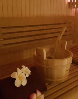 Accès au Sauna (15 min)
